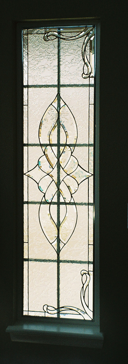how to make beveled glass windows